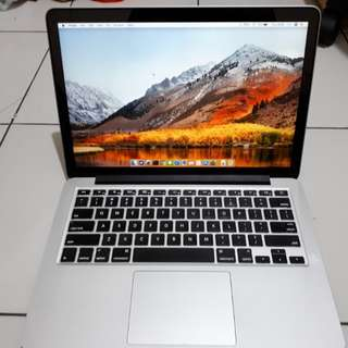 "Macbook Pro 13"" 2015 256 GB Retina MF840"