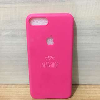 Iphone 7plus / 7 plus / 7+ silicon jelly case pink fanta