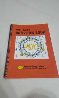 Music activities book