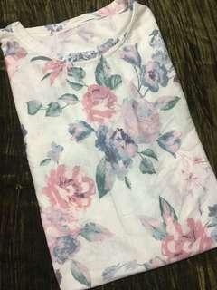 Floral print tshirts