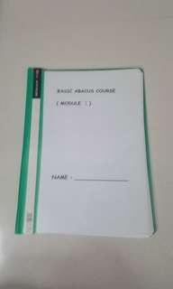 Basic abacus course