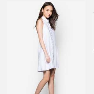 ZALORA - Love Low Back Shirt Dress
