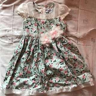 Dress Bday Dress anak cewek