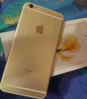 Iphone 6s plus Gold Factory Unlocked For swap sa Iphone 7plus