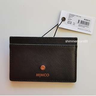 New! Mimco Phenomena Card Case Wallet Holder RRP$59.95