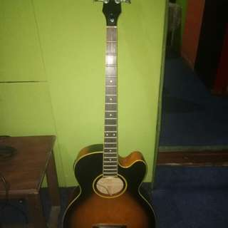 Bass Accoustic Epiphone
