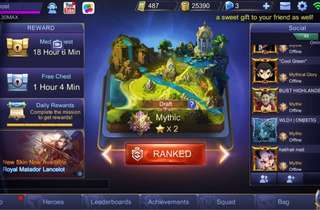 Mobile legend acc [PRICE REDUCE]
