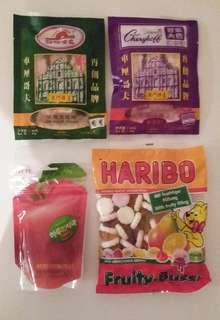 Snacks HARIBO 車厘哥夫 Lotte樂天軟糖