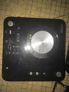 TDK NX-4CD 2.1ch CD/MP3 Micro Hi-Fi System, Black
