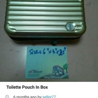 Toilette luggage box type