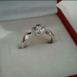 BN Cubic Zirconia Ring