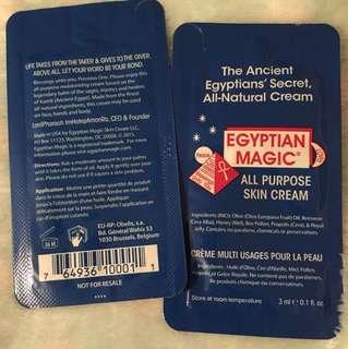 Egyptian magic cream sample x2