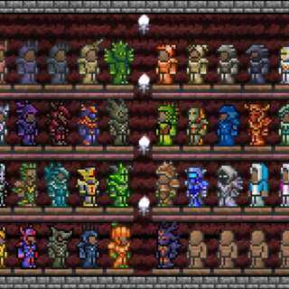 Terraria items and equipments