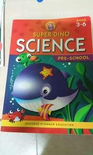 Pre school book science