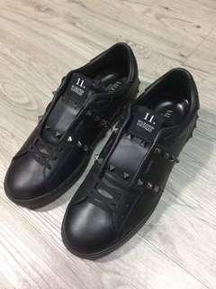 valentino 黑色柳釘鞋 39.5 41