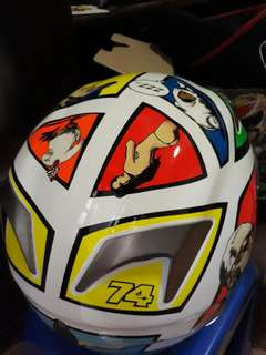 Helm agv rossi