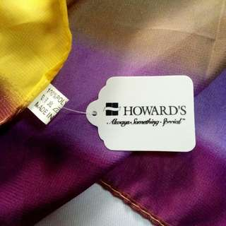 Howard's Scarf (from US)