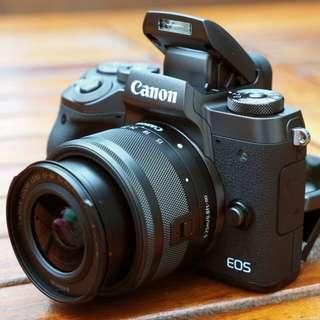 kamera Mirorles canon EOS M5 kredit cepat murah DSLR nikon, fujifilm, Lumix, Sony bunga 0%