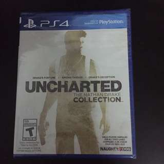 PS4 Uncharted The Nathan Drake Collection (New)