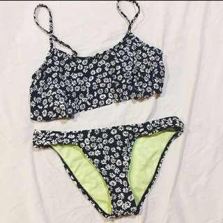 REPRICED - Forever 21 Floral Bikini