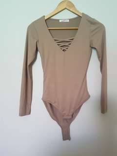 Supré bodysuits (nude and black)