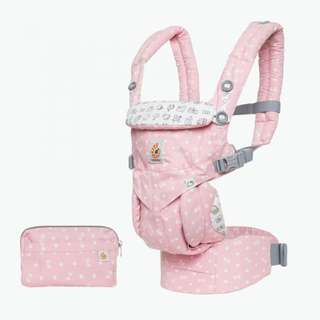 Ergobaby Omni 360 Ergo Baby Carrier All-In-One: Limited Edition Hello Kitty - Play Time Pink