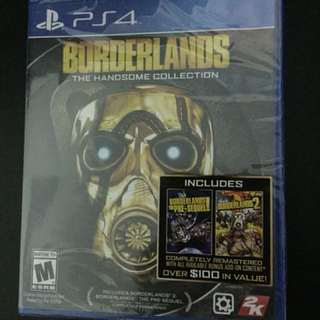 PS4 Borderlands The Handsome Collection (New)