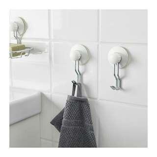 Ikea immeln 2pcs gantungan kamar mandi