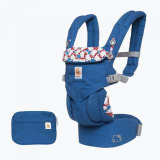 Ergobaby Omni 360 Ergo Baby Carrier All-In-One: Limited Edition Hello Kitty - Classic Blue