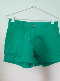 Forever21 shorts (green and orange)