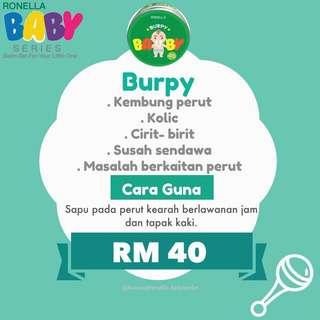 BABY BALM BURPY