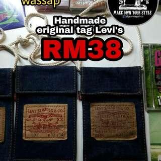 bag handmade levi's