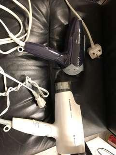 Panasonic 二手風筒(白色己賣,剩下黒色)