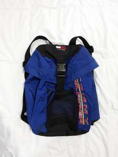Authentic Vintage 90s tommy hilfiger Backpack