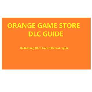 Orange Game Store DLC's Guide