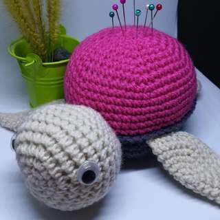Turtle Pin Cushion (#00A)