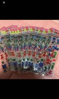 Instock pj mask stickers brand new 1-$1 buy 5get 1 free