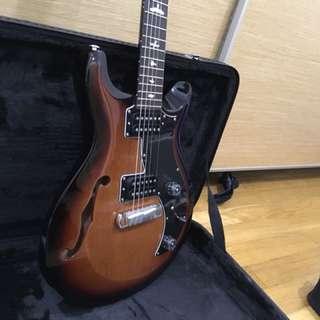 PRS S2 Mira Semi Hollow /w Birds Guitar
