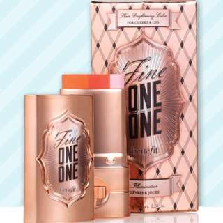 BENEFIT  fine-one-one sheer brightening color for cheeks & lips