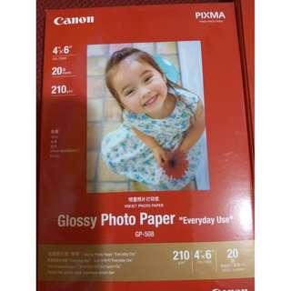 Canon PIXMA Glossy photo paper 两盒