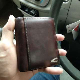 Camel Active wallet 100% authentic leather