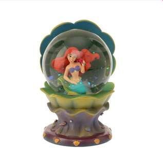 🇯🇵日本代購 迪士尼 Disney 美人魚 小魚仙 Ariel 復古版 水晶球