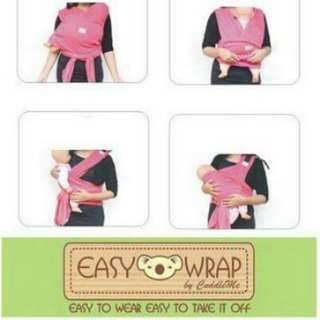 CuddleMe Baby Wrap @ Carrier