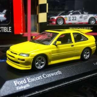 Minichamps 1/43 Ford Escort Cosworth 告士和夫