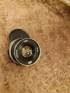 Soviet lens Industar-61 52mm f2.8 m39 mount Leica zorki