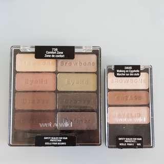 Wet n wild eyeshadow palettes