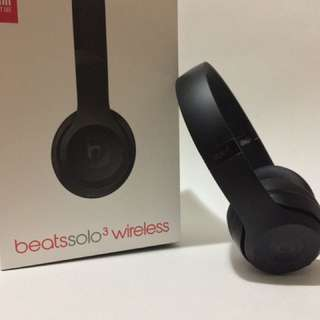 Beats Solo 3 Matte Black