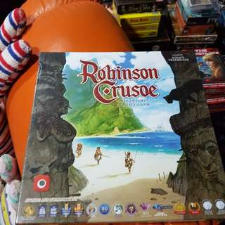 Robinson Crusoe Brand New Board Game
