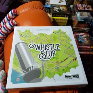 Whistle Stop Brand New Board Game