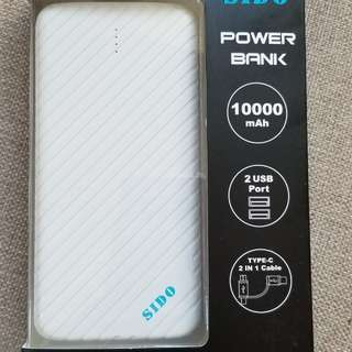 Sido power bank 外置充電器